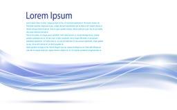 Fondo móvil flúido del concepto de diseño de la innovación de la tecnología del agua abstracta de la onda stock de ilustración