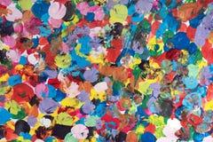 Fondo macchiato multicolore Fotografia Stock