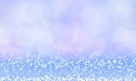Fondo magico di inverno magnifico con scintillio Immagini Stock