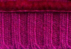 Fondo malva del maglione Immagini Stock