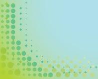 Fondo manchado en azul y verde Imagen de archivo
