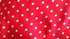 Fondo manchado rojo - tela Fotografía de archivo libre de regalías