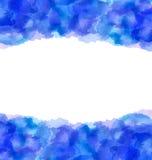 Fondo a mano abstracto de la acuarela, espacio de la copia para su t libre illustration