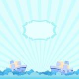 Fondo marina Imagen de archivo