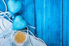 Fondo marino del azul del tema Fotografía de archivo libre de regalías