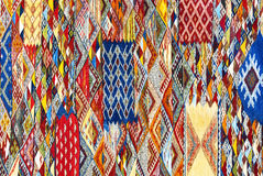 Fondo marocchino del tappeto Fotografia Stock