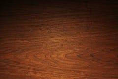 Fondo marrón de madera de la textura Foto de archivo