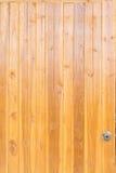 Fondo marrón de maderas de la teca Foto de archivo
