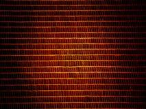 Fondo marrón de oro del dígito binario Imagen de archivo