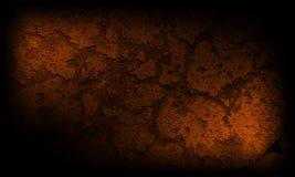 Fondo marrón negro y oscuro abstracto de la textura ilustración del vector