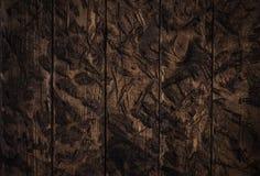 Fondo marrón texturizado rugoso de madera Imágenes de archivo libres de regalías