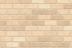 Fondo marrone chiaro dell'estratto del muro di mattoni Struttura dei mattoni Illustrazione di vettore Progettazione del modello p royalty illustrazione gratis