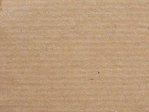 Fondo marrone chiaro della superficie della carta Fotografia Stock