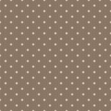Fondo marrone dell'annata con i punti di Polka di lerciume Fotografie Stock Libere da Diritti