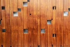 Fondo marrone di legno Fotografia Stock Libera da Diritti