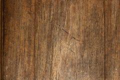Fondo marrone di legno di struttura Fotografia Stock Libera da Diritti