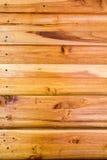 Fondo marrone di legno di struttura della plancia della foto Immagini Stock Libere da Diritti