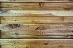 Fondo marrone di legno di struttura della plancia della foto Immagine Stock Libera da Diritti