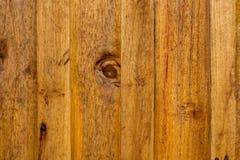 Fondo marrone di legno di struttura della plancia della foto Fotografie Stock