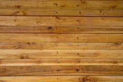 Fondo marrone di legno di struttura della plancia della foto Fotografia Stock Libera da Diritti