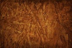 Fondo marrone di legno rustico approssimativo laminato fotografie stock libere da diritti