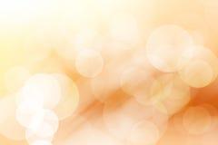 Fondo, marrone e bianco astratti del bokeh Fotografie Stock