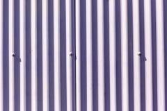 Fondo marrone rossiccio della parete del metallo della decorazione Immagini Stock