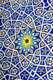 Fondo marroquí tradicional del modelo de la teja Fotografía de archivo