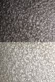 Fondo martellato d'argento del metallo, struttura metallica astratta, strato immagine stock