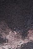 Fondo martellato nero del metallo, struttura metallica astratta, strato immagine stock