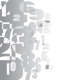 Fondo matemático Imágenes de archivo libres de regalías