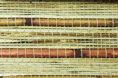 Fondo material de bambú Fotografía de archivo libre de regalías