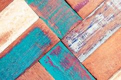 Fondo material de madera del vintage de la visión superior Imágenes de archivo libres de regalías