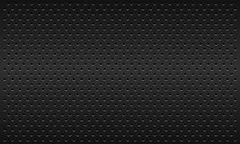 Fondo material oscuro punteado del vector de la textura Imagenes de archivo