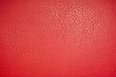 Fondo materiale di cuoio rosso di struttura immagine stock libera da diritti