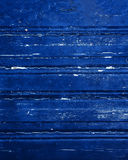 Fondo materiale di legno blu per la carta da parati d'annata - blu scuro Fotografie Stock