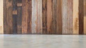 Fondo materiale di legno per la carta da parati d'annata Struttura di legno della tavola nell'interno moderno della casa immagine stock libera da diritti
