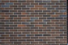 Fondo, mattone di marrone della parete, muratura bavarese immagine stock