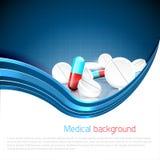 Fondo medico Fotografia Stock Libera da Diritti