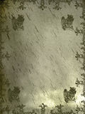 Fondo medieval del grifo Foto de archivo