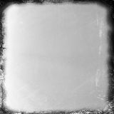 Fondo medio blanco y negro de la película del formato Fotografía de archivo libre de regalías
