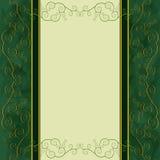 Fondo-menu dell'annata, coperchio, scheda dell'invito Immagini Stock