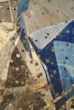 Fondo metálico abstracto Foto de archivo libre de regalías