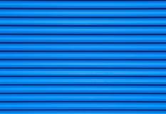Fondo metálico azul Fotos de archivo