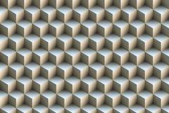 fondo metálico azul de los cubos 3d libre illustration