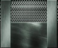 Fondo metálico de la textura Imagen de archivo libre de regalías