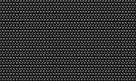 Fondo metálico de la textura del carbono del panal Foto de archivo