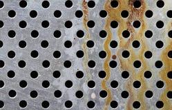 Fondo metálico de la textura del moho Fotografía de archivo libre de regalías