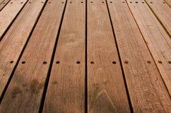 Fondo metálico de madera rústico Imagenes de archivo