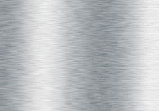 Fondo metálico de plata aplicado con brocha